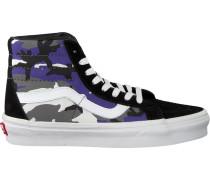 Blaue Vans Sneaker SK8 HI Reissue WMN