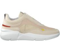 Beige Nubikk Sneaker Elven Boulder