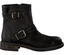 Schwarze Ca'Shott Biker Boots 12007