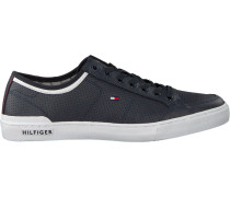 Blaue Sneaker Core Corporate Leather Sneaker