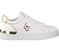 Weiße Liu Jo Sneaker Low Sylvia 01