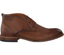 Cognacfarbene Van Lier Business Schuhe 1859201
