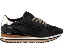 Schwarze Crime London Sneaker Dynamic Pailettes