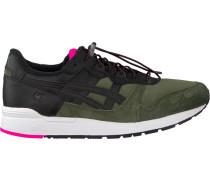 Schwarze Onitsuka Tiger Sneaker Gel-Lyte