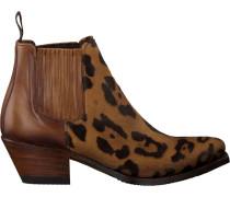 Cognacfarbene Sendra Chelsea Boots LIA