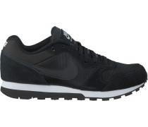 Schwarze Nike Sneaker MD Runner 2 Wmns