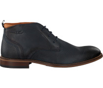 Blaue Van Lier Business Schuhe 1859201