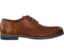 Cognacfarbene Van Lier Business Schuhe 1915619