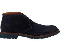 Blaue Van Lier Ankle Boots 5505