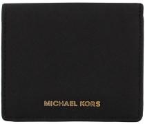 Schwarze Kreditkarteninhaber Flap Card Holder