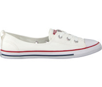 Weiße Converse Sneaker Chuck Taylor Ballet Lace