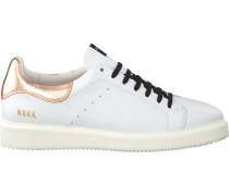 Weiße Nubikk Sneaker Noah Classic Lace