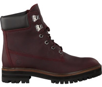 Braune Schnürboots London Square 6IN Boot