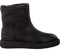 Schwarze Shabbies Ankle Boots 181020028
