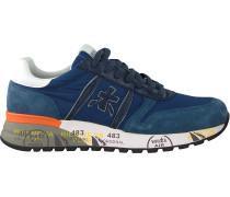Blaue Premiata Sneaker Low Lander
