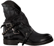 Schwarze A.s.98 Biker Boots 207235 19