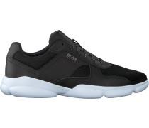 Schwarze Boss Sneaker Low Rapid Runn Melt