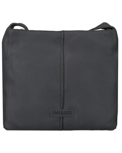 Shabbies Amsterdam Damen Schwarze Shabbies Umhängetasche 232020006 Billig Verkauf Outlet-Store C9up9Ts1