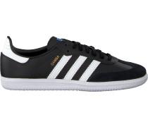 Schwarze Adidas Sneaker Samba Og J