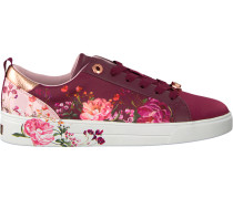 Rote Ted Baker Schnürschuhe Giellit