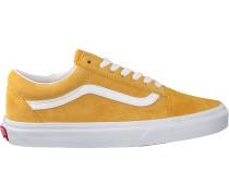 Gelbe Vans Sneaker Ua Old Skool Wmn