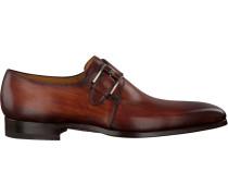 Cognacfarbene Magnanni Business Schuhe 16608