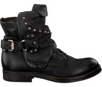 Schwarze A.s.98 Biker Boots 207250