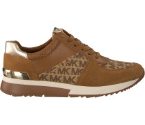 Cognacfarbene Michael Kors Sneaker Allie Trainer