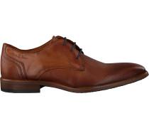 Cognacfarbene Van Lier Business Schuhe 1951700