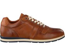 Cognacfarbene Van Lier Sneaker Low 1953201
