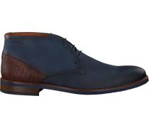 Blaue Van Lier Business Schuhe 1915315