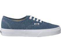 Blaue Vans Sneaker Authentic WMN