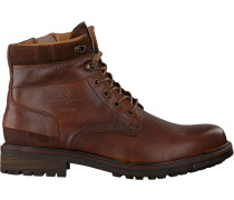 Cognacfarbene Sneaker Foxton High M