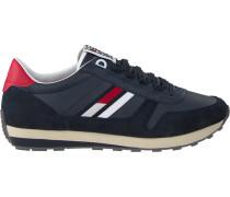 Schwarze Sneaker Retro Runner Sneaker