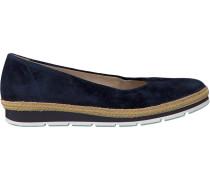 Blaue Gabor Slipper 400