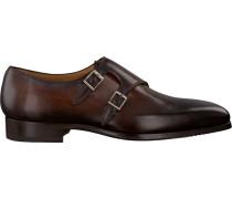 Braune Magnanni Business Schuhe 20545