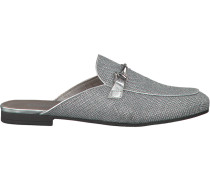 Silberne Gabor Loafer 510