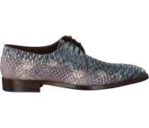 Blaue Business Schuhe 14170