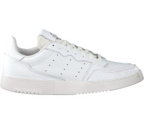 Weiße Adidas Sneaker Low Supercourt
