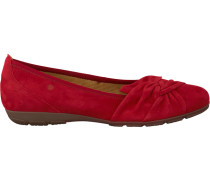 Rote Gabor Ballerinas 150.1