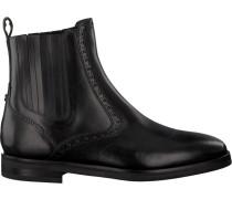 Schwarze Floris Van Bommel Chelsea Boots 85604