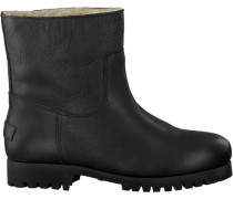 Schwarze Shabbies Ankle Boots 181020072