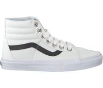 Weiße Vans Sneaker SK8 HI Reissue WMN