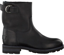 Schwarze Shabbies Ankle Boots 181020032