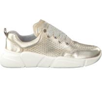 Goldfarbene Bronx Sneaker Bvoyagerx