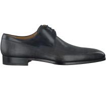Schwarze Magnanni Business Schuhe 18738