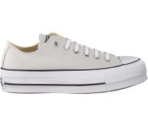 Graue Sneaker Ctas Lift OX Mouse/white/blac