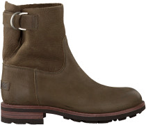 Grüne Shabbies Ankle Boots 181020071