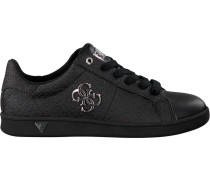 Schwarze Guess Sneaker Flbys1 Lea12