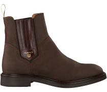 Braune Gant Chelsea Boots Ashley